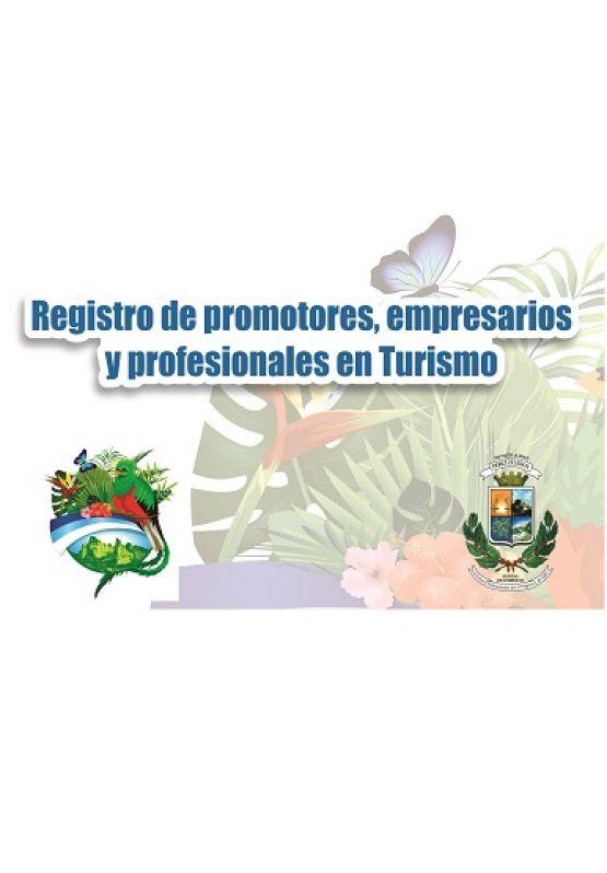 Registro de Promotores, Empresarios y Profesionales en Turismo